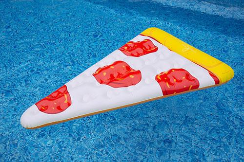Pizza Pool Floats