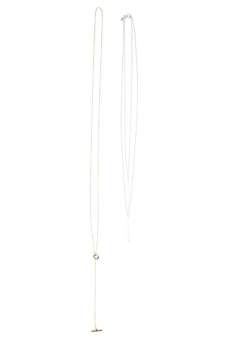 Gorjana-Gold+Silver-Necklace