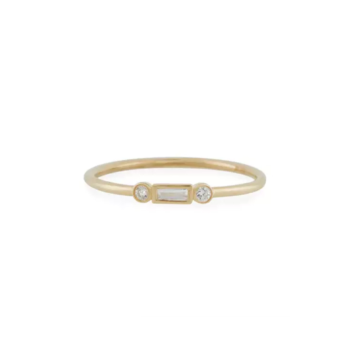 Sydney Evan 14k Baguette Diamond Stacking Ring $475 This Ring Is Subtle  And Stunning Without The Huge Price Tag Plus, It'll Be A Dream To Stack  With Some